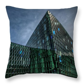 Harpa Throw Pillow by Wade Courtney