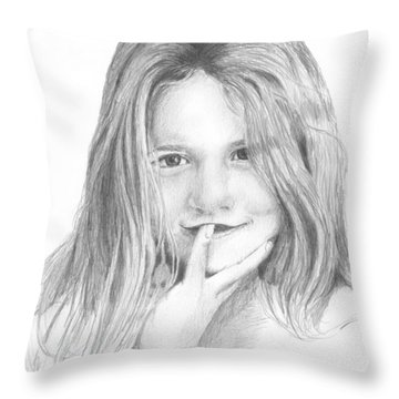 Harper Age Six Throw Pillow
