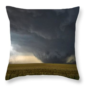 Harper Kansas Tornado 2  Throw Pillow
