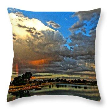 Harper Lake Throw Pillow