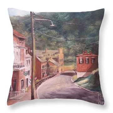 Harpers Ferry West Va Throw Pillow