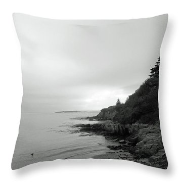 Harpswell, Maine No. 5 Throw Pillow