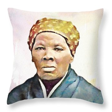 Harriet Tubman Throw Pillow