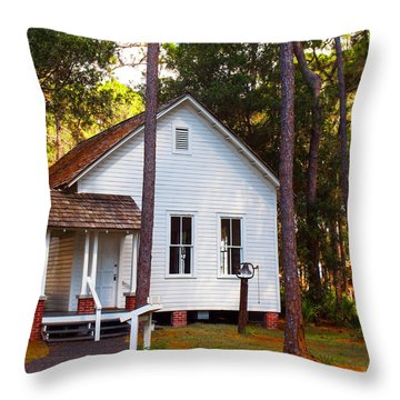Harris School Throw Pillow