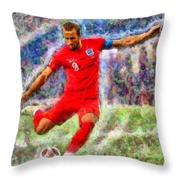 Harry Kane Throw Pillow