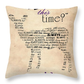 Harry Potter,severus Snape After All This Time, Always Poster Throw Pillow