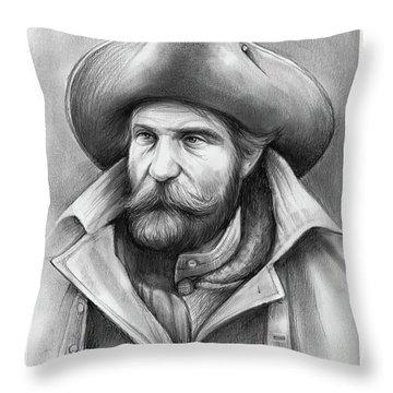 Harry Yount Throw Pillow