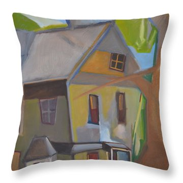 Harry's Tree Throw Pillow