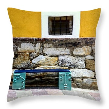 Hartberg Bench Throw Pillow