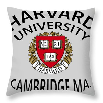 Harvard University Cambridge M A  Throw Pillow