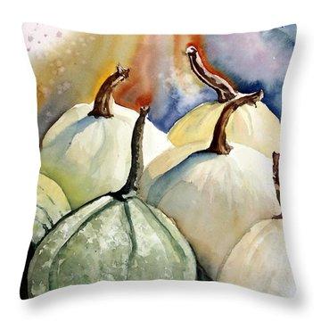 Harvest Delight Throw Pillow