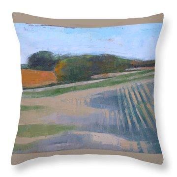 Harvest Fields Throw Pillow