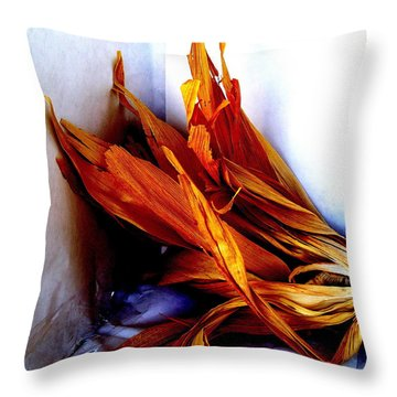 Harvest Throw Pillow by Fred Wilson
