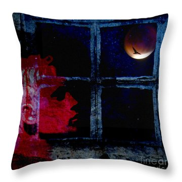 Harvest Moon Throw Pillow