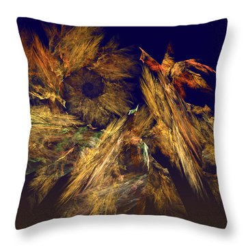 Harvest Of Hope Throw Pillow