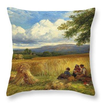 Harvest Rest Throw Pillow