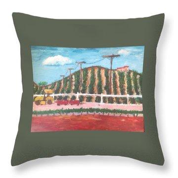 Harvest Season Temecula Throw Pillow