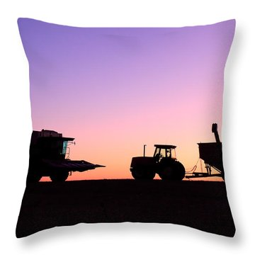 Harvest Sky Throw Pillow