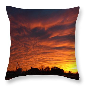 Harvest Sky Throw Pillow
