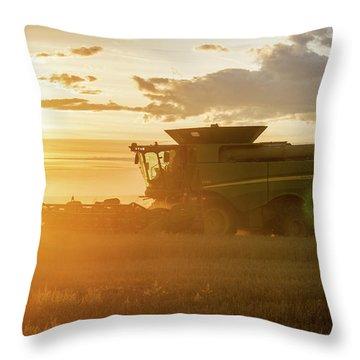 Harvest Sun Throw Pillow