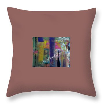 Harvest Time Jubilee Throw Pillow by Kelly Turner