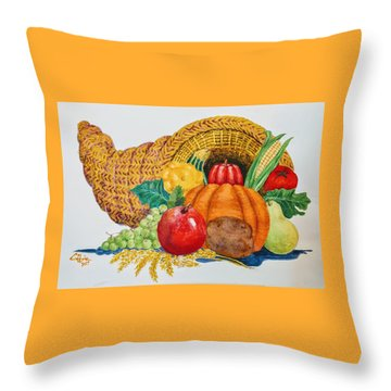 Harvest Time2  Throw Pillow
