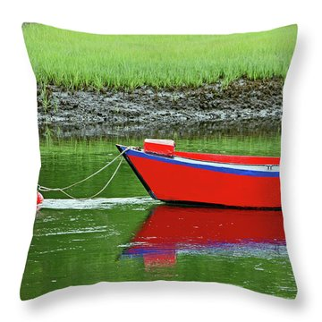 Harwich Rowboat Throw Pillow