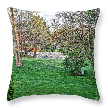 Harwycke Commons  Throw Pillow