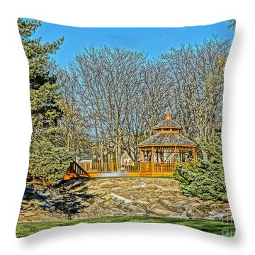 Harwycke Gazebo 1 Throw Pillow