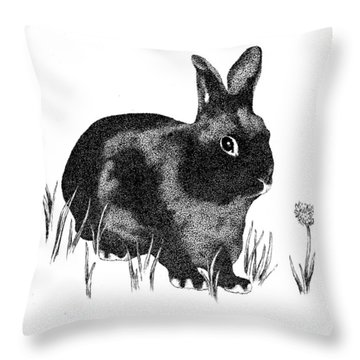 Hasenpfeffer Throw Pillow