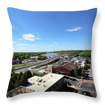 Hastings, Minnesota Throw Pillow