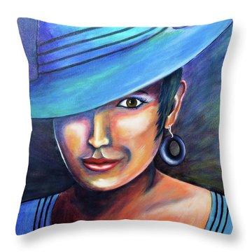 Hat Affair Throw Pillow