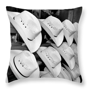 Hat And Boot Store Nashville Tn Throw Pillow by Joseph Mari