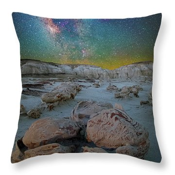 Hatched By The Stars Throw Pillow