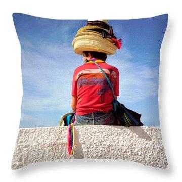 Hats Throw Pillow