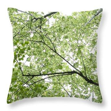 Hau Tree Canopy Throw Pillow