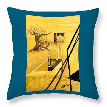Haunted Dreams Throw Pillow