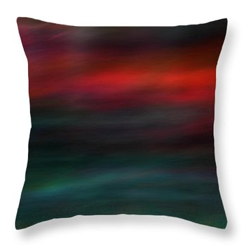 Throw Pillow featuring the photograph Haunted by Robin Dickinson
