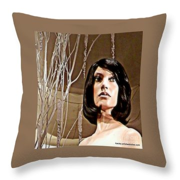 Haunting Throw Pillow