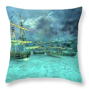 Haunting Serenity Point Throw Pillow