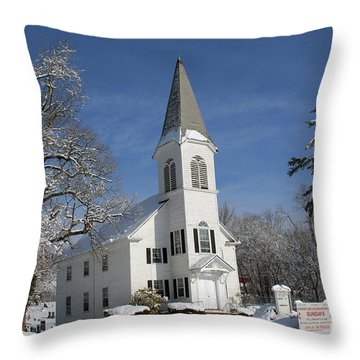 Hauppauge United Methodist Church  Throw Pillow