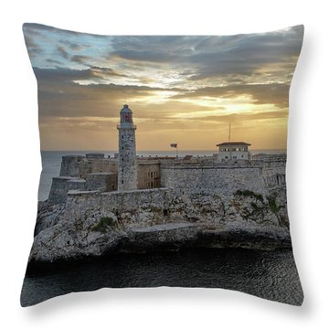 Havana Castillo 2 Throw Pillow