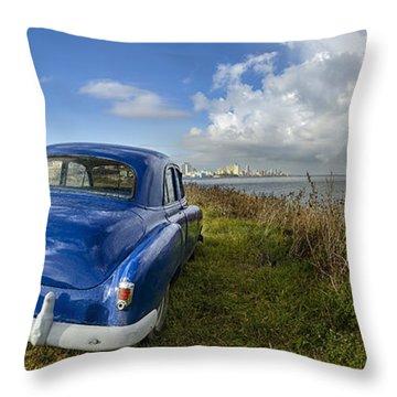 Havana Rainbow Throw Pillow