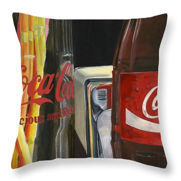 Have A Coke... Throw Pillow