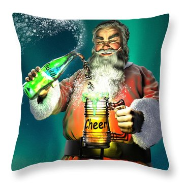 Have A Cup Of Cheer Throw Pillow