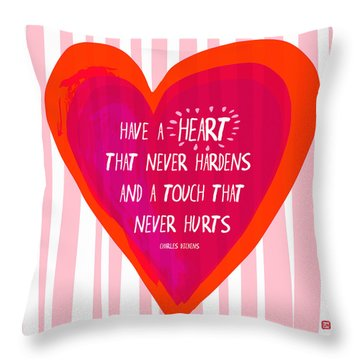 Have A Heart Throw Pillow