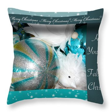 Have Yourself A Fabulous Christmas Throw Pillow