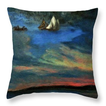Haven In Heaven Throw Pillow