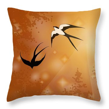 Haven Song Throw Pillow
