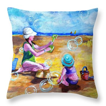 Childhood  #2 Throw Pillow